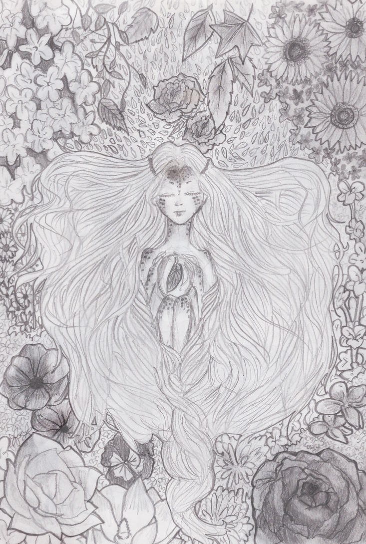 Mother Nature by Drawing-Dolphin on DeviantArt