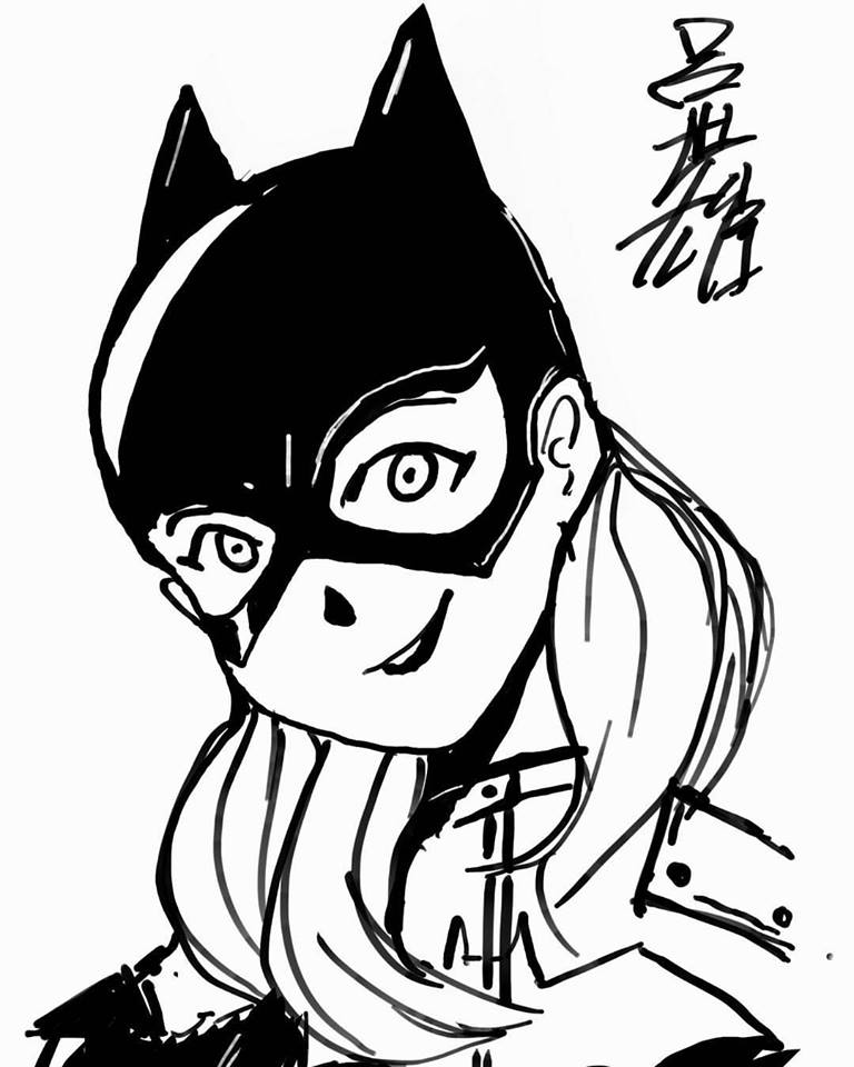 Batgirl by pawmarks