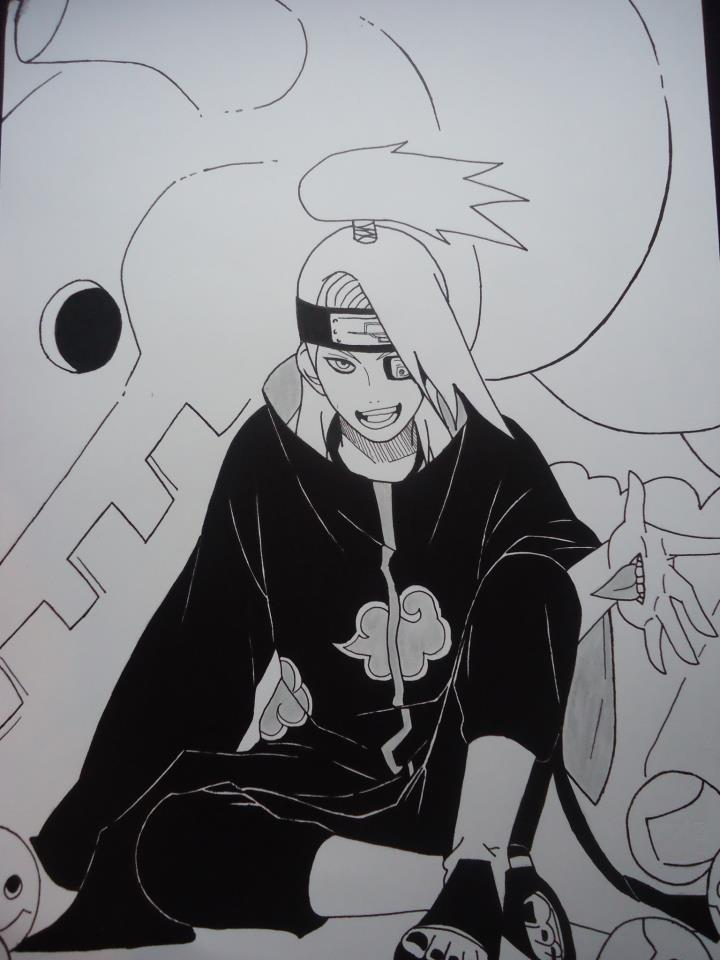 Deidara - Naruto by coderra4ever