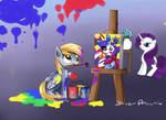 Derpy and art