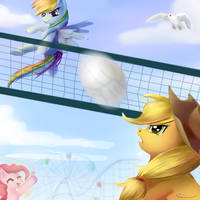 Volleyball by Incinerater