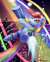 Art trade Taste the Rainbow by Incinerater