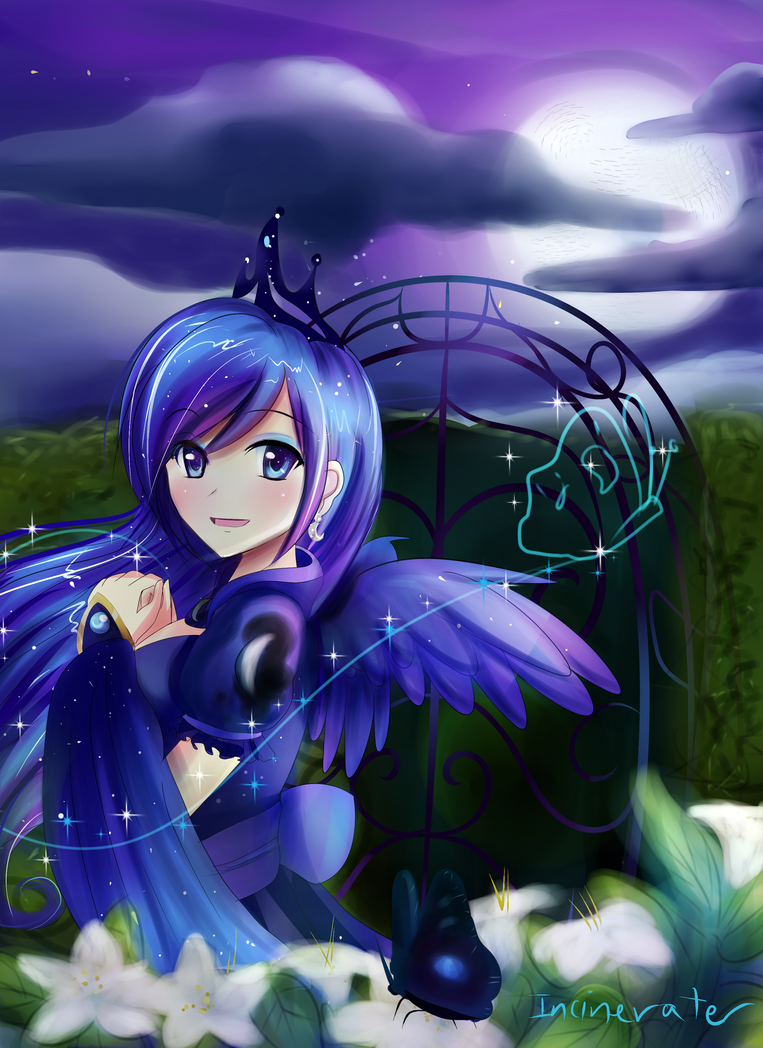 Human Luna By Incinerater On DeviantArt