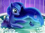 Luna's bath