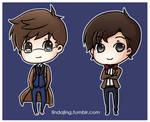 Doctor Who Chibis