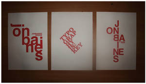 Typography is key posters by XxX-SXE-XxX