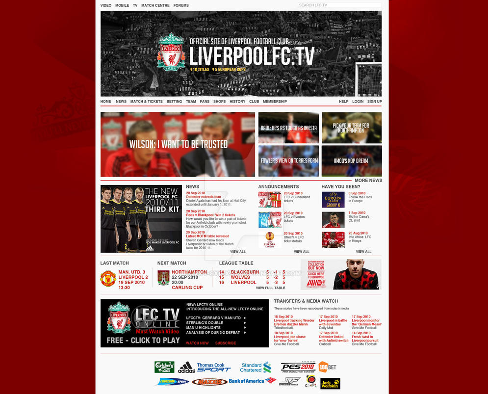 LiverpoolFC.tv Concept by XxX-SXE-XxX