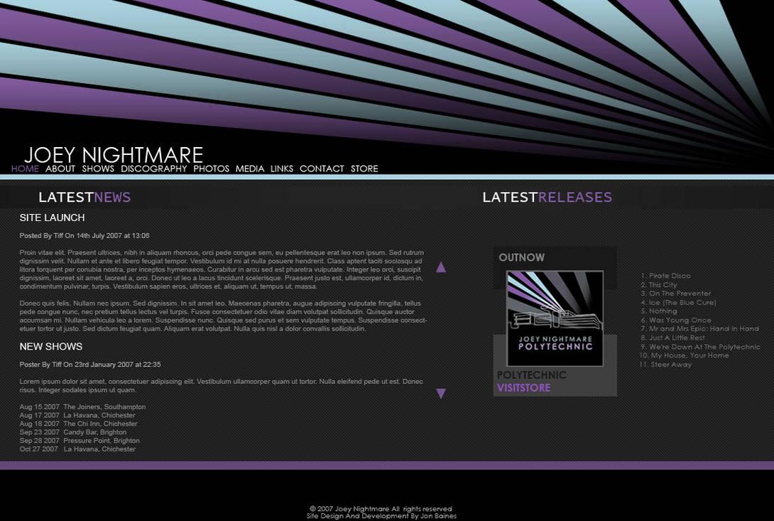 Joey Nightmare Website By Xxx Sxe Xxx On Deviantart May 2, 1992), better known online as mr. deviantart