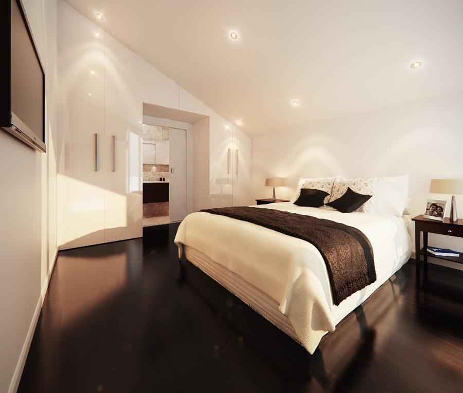 bedroom by rudavka
