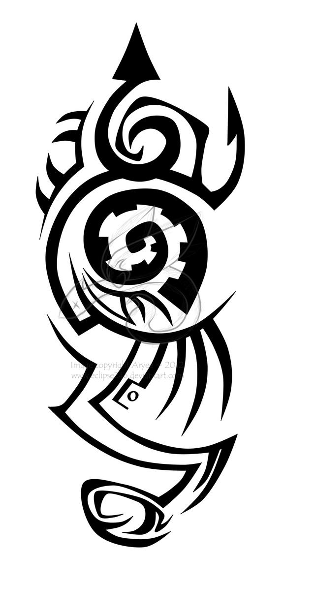 Tribal-Tattoos tribal_tattoo_by_eclipse246-d5110ig