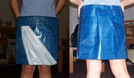 recycling bag skirt