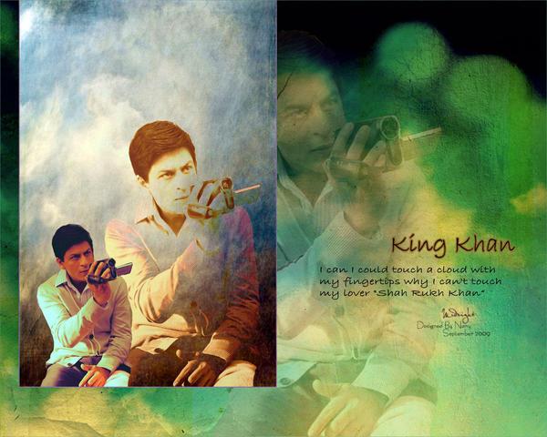 SRK-Wallpaper by midnight-Nany