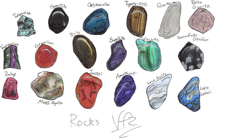 Rocks by violetflora2