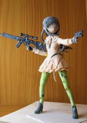 akemi homura figure WIP by Jessirelli