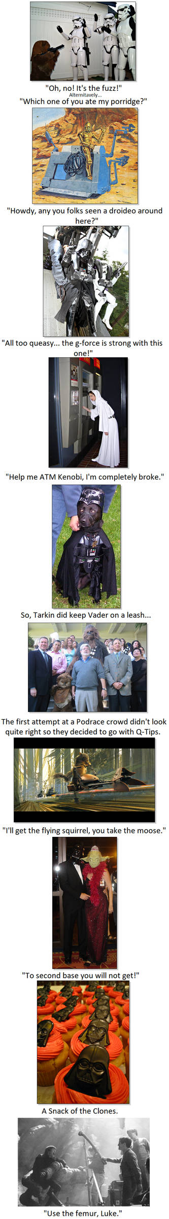 Star Wars Captioning Episode XIII: AAAAAGH