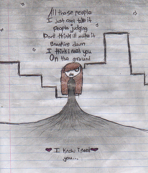 Emo Poems: Emo Girl With Poem By Xrainbowjenkinsx On DeviantArt