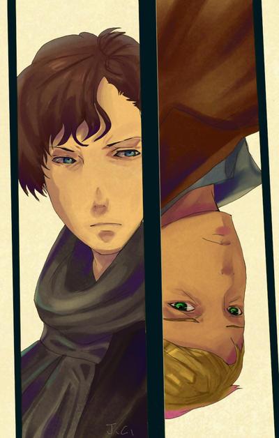 Sherlock and John by teralilac