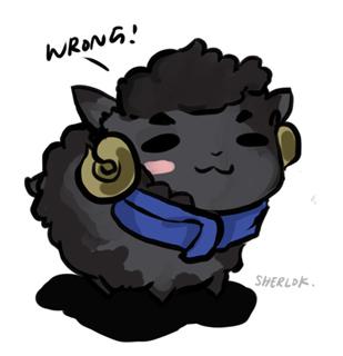 Sherlock the sheep by teralilac