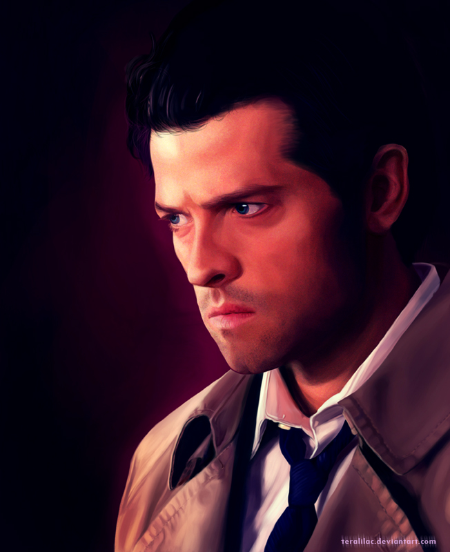 [SPN] Frustrated Cas by teralilac