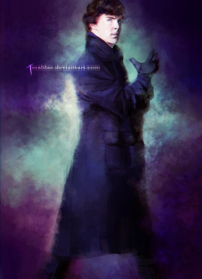 Sherlock Holmes by teralilac