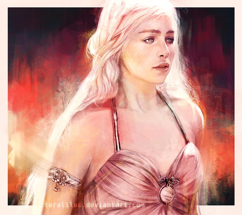 Daenerys Targaryen by teralilac
