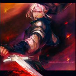 Dark Link by teralilac