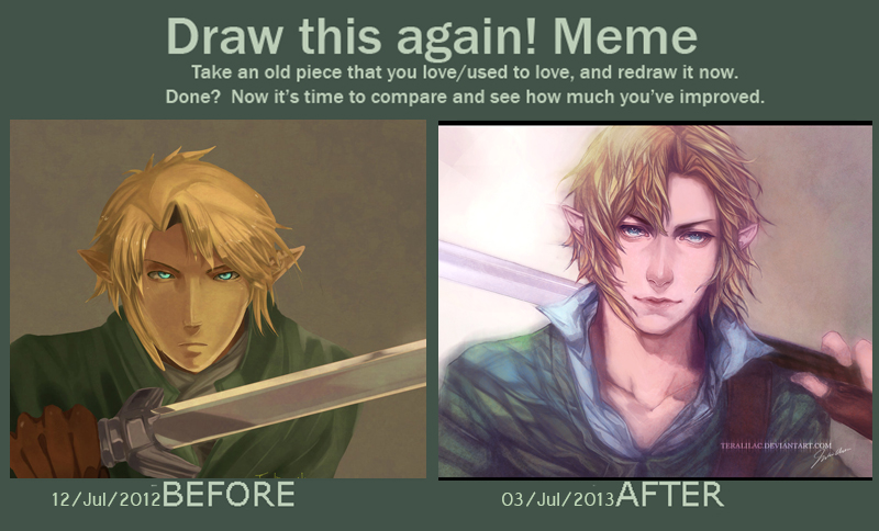 draw this again meme template - meme draw link again by teralilac on deviantart