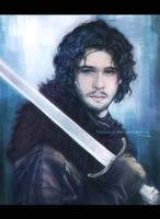 Jon Snow by teralilac