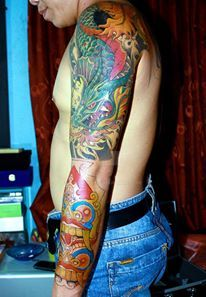 tattoo by aminudin