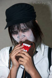 Domo oh no not a zombie attack