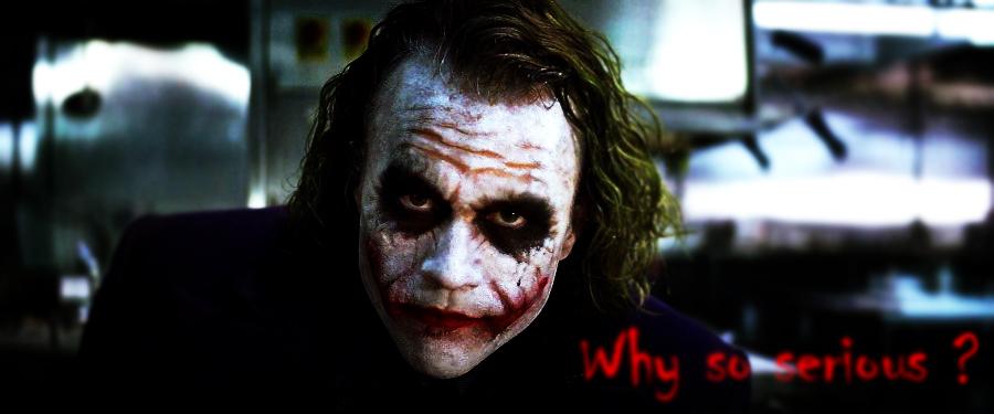 Why So Serious ? By XXxMdogxXx On DeviantArt