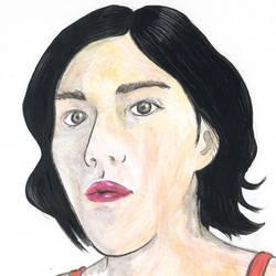 self portrait by Miss-Zut