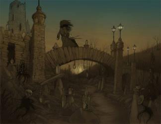 Bridge of Bottles by CopperAge