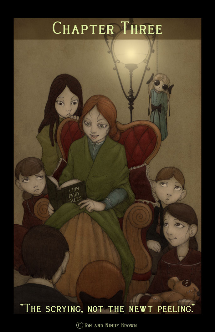 Sophie Davies and orphans by CopperAge