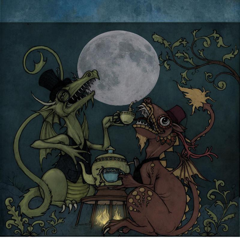 Tea Dragon moon