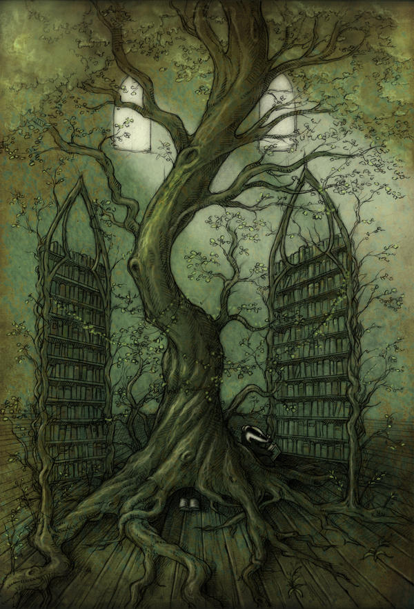 The Neverland library tree