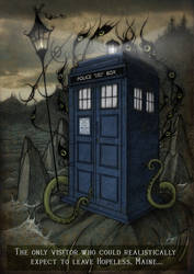 TARDIS on Hopeless by CopperAge