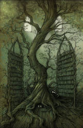 Neverland's Library tree by CopperAge