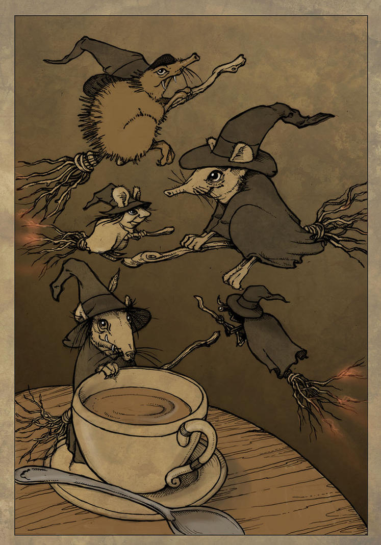 Peffa oidy witches  by CopperAge
