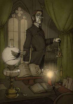 Reverend Davies and odd Moths-finish