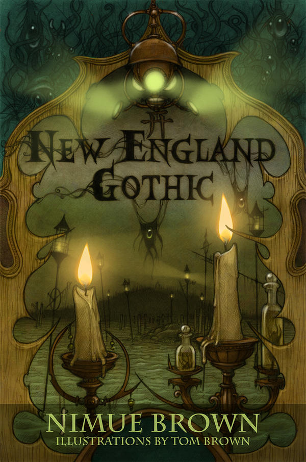 New England Gothic cover art by CopperAge