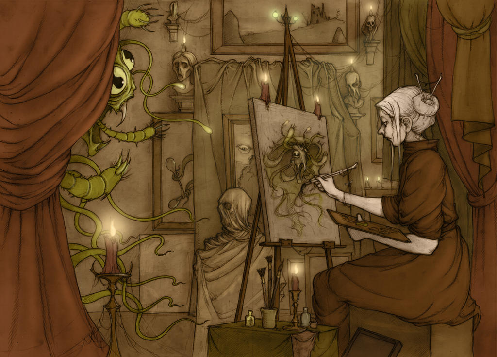SKILLS chapter cover for the Hopeless, Maine RPG by CopperAge