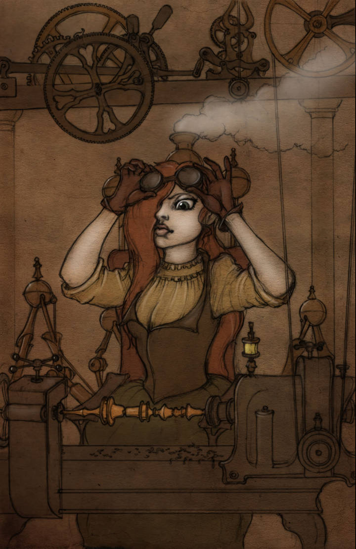 Lilly Mae in Colour by CopperAge