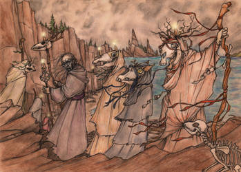 The Procession by CopperAge