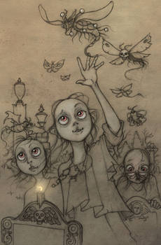 The child vampires of Hopeless, Maine