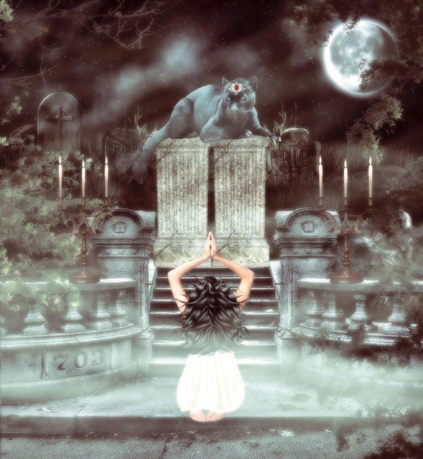 Goddess by Scarredhuntress