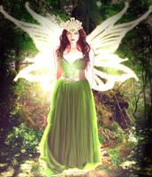 Green Fae. by Scarredhuntress