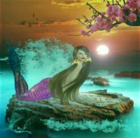 Mermaid by Scarredhuntress