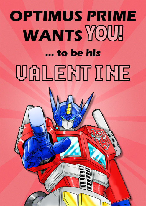 Transformers Valentines Card 2011 By Deadcal ...