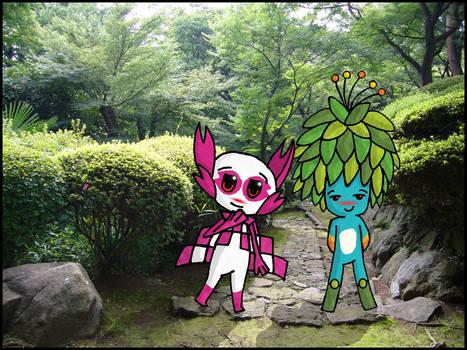 Tom and Someity - Tropical Sakura
